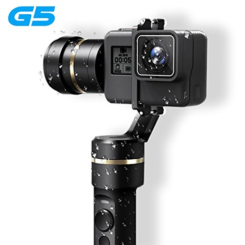 Preisvergleich Produktbild Feiyu G5 Handheld Gimbal for GoPro HERO5 5 4 Xiaomi yi 4k SJ AEE Action Cams Splashproof Bluetooth-enabled control