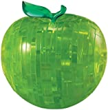 3D Crystal Puzzle - Green Apple