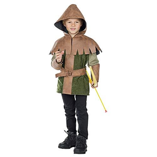Mädchen Kostüm Dieb - Idealtrend Kostüm Kinder Gr 104-164 Mädchen Jungen Fantasy Fasching Karneval Cosplay Unisex: Farbe: Prinz der Diebe | Größe: 164