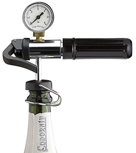 Champagne Protector - Champagnerkonservierung inkl. Champagnerverschluss und Kapsel (ideal für Bars)