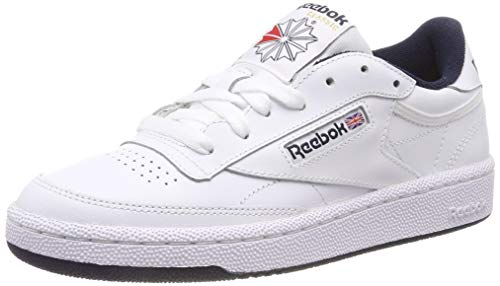 Reebok Club C85 Baskets Femme Blanc (Int White Navy) 39 EU
