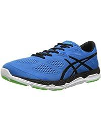 ASICS Zapatillas de running 33-FA para hombre, azul / negro / verde claro, 14 M de EE. UU.