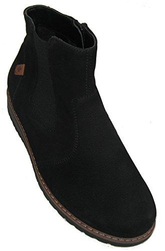 Waldläufer 379801-165-001 Havida Damen Stiefelette Boots Weite H auch für lose Einlagen Schwarz