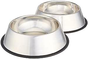 Pets Empire Stainless Steel Dog Bowl Medium (Set of 2)