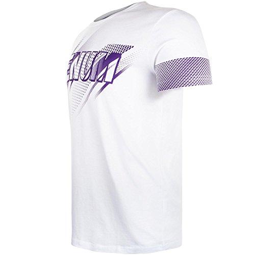 Venum Herren Rapid T-Shirt Weiß/Violett