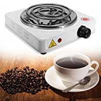 Generic 110V 1000 W Electric Stove Hot Plate Burner Travel Cooking Appliances Portable Warmer Tea Coffee Heater