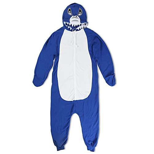 stüm-Anzug Onesie/Jumpsuit Einteiler Body für Erwachsene Damen Herren als Pyjama oder Schlafanzug Unisex - viele verschiedene Tiere ()