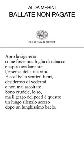 Ballate non pagate (Collezione di poesia Vol. 252) (Italian ...