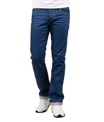 Jack & Jones Herren Straight Leg Jeans Jeans Clark Original Regular F, ocean fit, W38/L36