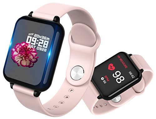 Smartwatch, Anding Reloj Inteligente Impermeable IP67 con Pulsómetro, Cronómetro, Monitor de sueño,Podómetro,Calendario, Pulsera Actividad para Android y iOS Hombre Mujer niños Reloj de Fitness