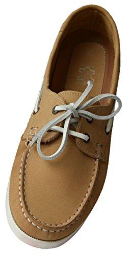 Beverly Originals Chaussures Bateau Cuir Homme Men's Casual Skipper