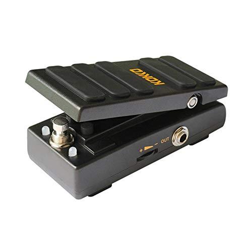 Anna-neek KOKKO KW-1 Mini Aktiv Wah Effektpedal Wah-Pedal Volume Effektpedal Gitarren Effektpedal Bodeneffect Pedal Stomp Box Adjustable Metallgehäuse