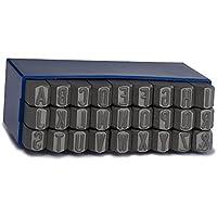 GRAVUREM 101.SR8 Juegos de abecedario (27 Piezas) de 8 mm de Acero de aleación para Marcado por Golpe