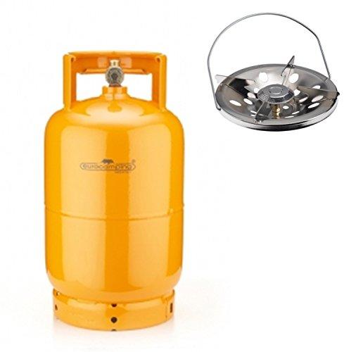 BOMBOLA A GAS 5 KG- (12 L) RICARICABILE DA CAMPEGGIO CAMPER + FORNELLO