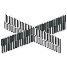 """Divisor de cajón para montaje en rack 2U longitud Carcasas & 19""""armario estante, accesorio de cajón Divisor, 2U, longitud, color: negro, Rack U Altura: 2"""