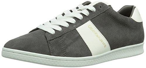 Calvin Klein Jeans - Hal, Sneakers da uomo, Grigio (Grau (SMOKE / SMK)), 40