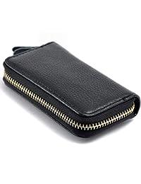 Ankamal Elec Leather como Billetera con diseño Curvo. Bolsa de Llaves de Coche al por Mayor (Negro)