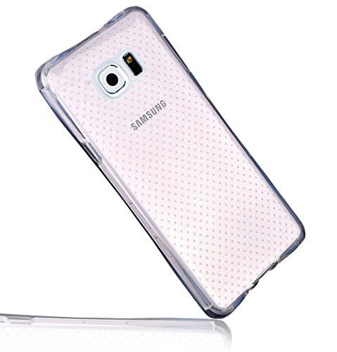 Galaxy S7 Armor Zurück Full Protektiv Case, [Air-Cushion Kantenschutztechnologie - Bumper Case] Sunroyal Ultra-Thin [Drop Protection]Shock Resistant Durchsichtige Rückschale Soft Weichem Flexible Gel TPU Bumper Case Dünn Schutzhülle Silikon for Samsung Galaxy S7 Case cover