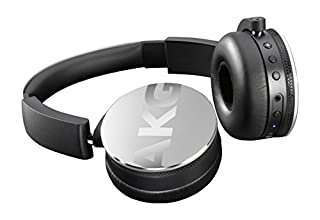 AKG Y50BT Auriculares supraaurales inalámbricos Bluetooth Recargables, compatibles con Smartphones y tabletas iOS e Apple y Android, Color Plateado (B01583HL0A) | Amazon Products