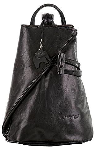 Big Handbag Shop , Sacs portés dos femme - noir - Black Plain,