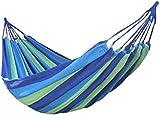 niceEshop(TM) Canvas Single Hammock Outdoor Sleeping Gear For Hiking Backpacking