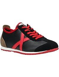 Zapatillas Hombre Munich Osaka 339 Negro Rojo 31642ee3a3407