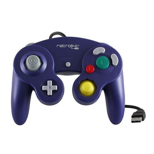 GameCube Classic Controller USB Purple for PC/MAC RetroLink [Importaci