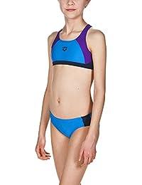 179171f143cb6 arena Mädchen Sport Bikini Ren (Schnelltrocknend, UV-Schutz UPF 50+, Chlor…