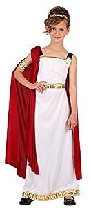 Atosa-6613 Disfraz Romana, Color Blanco, 7 A 9 Años (6613)