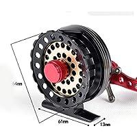 Namises Aluminum Alloy Spool 60 Left/Right Hand Raft Reel Ice Fishing Reel Fly Reel 26813