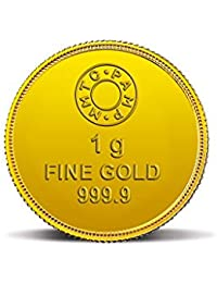 MMTC-PAMP Lotus 24k (999.9) 1 gm Gold Coin