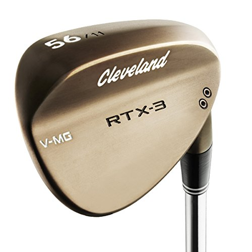 Cleveland Golf pour homme Rtx-3 VMG (Mid Bounce) Tour Wedge, Raw Têtes, Homme, Raw Heads