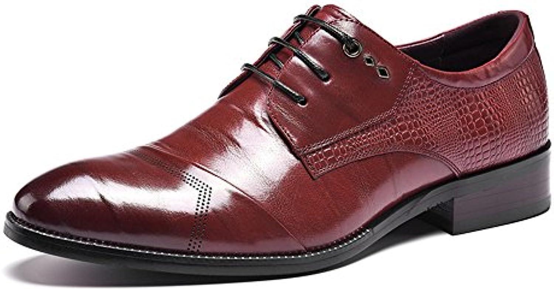 Hombres de la moda de los hombres zapatos de cuero, zapatos hechos a mano, Business Casual Shoes, casual zapatos... -