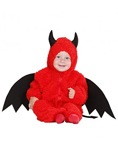 ostüm mit Flügeln und Hörnern Größe 80 (Teufel Kostüm Kleinkind)