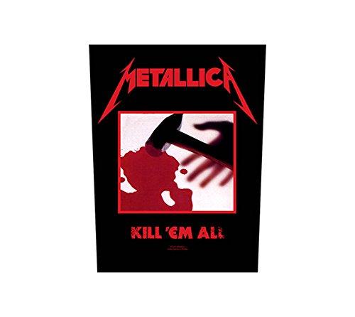 Metallica - Kill Em All [Backpatch ]Metallica Rückenaufnäher !!