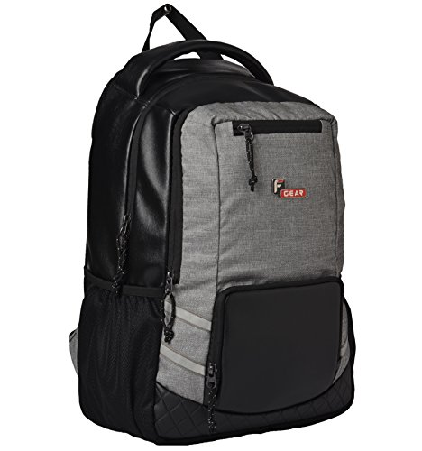 F Gear Intellect Melange 32 Ltrs Black Casual Backpack (2706)