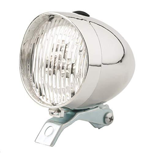 InueINND 200LM LED Fahrradlicht, Klassisch Fahrrad Scheinwerfer Vintage Retro Kopflicht Vorderseite Nebelscheinwerfer Fahrradlampe 2 Licht-Modi Fahrradbeleuchtung Fahrradscheinwerfer Damen Herren