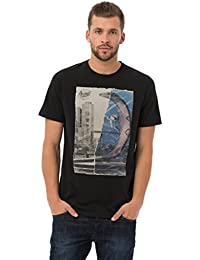 Animal Herren T-shirt Ripped Graphic Tee