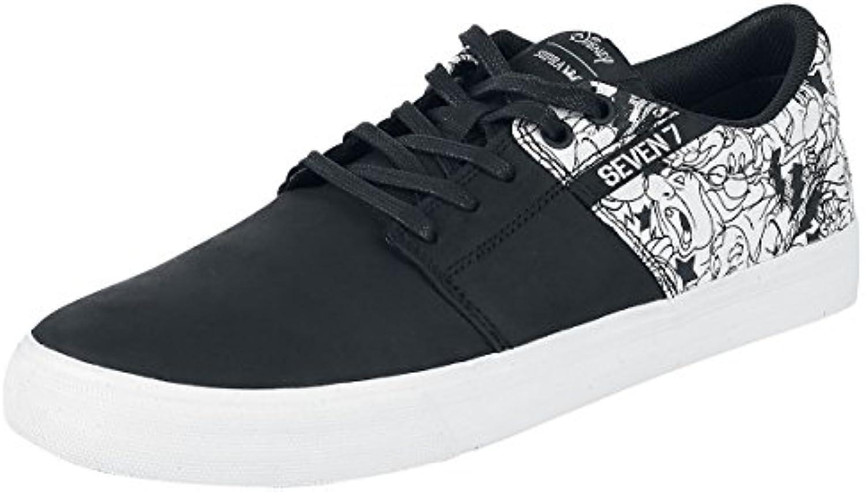 Supra Stacks Vulc II - All7 Zapatillas Negro-Blanco  -