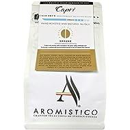 AROMISTICO | CAPRI COLD BREW | Premium Italian COARSE GROUND COFFEE | Gourmet Italian Blend especially for Cold Brewing | REFRESHING, FLAVOURFUL & MILK CHOCOLATE-LIKE