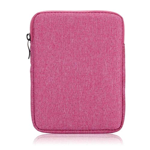 Fcostume Weiche Soft Sleeve Tasche Hülle PC Cover Kompatibel für Amazon neue Kindle 10th Generation 2019 (Hot Pink) Soft Sleeve Tasche