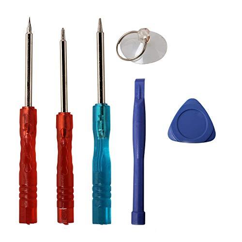 Timorn 6-en-1 Outil de désassemblage Mobile Outil d'ouverture Outil de réparation pour Smartphone Inclure Un Tournevis Pentalobe iPhone 4 / 4S / 5 / 5S / 6 & 6 Plus / 6S & 6S Plus (5 Paquet)