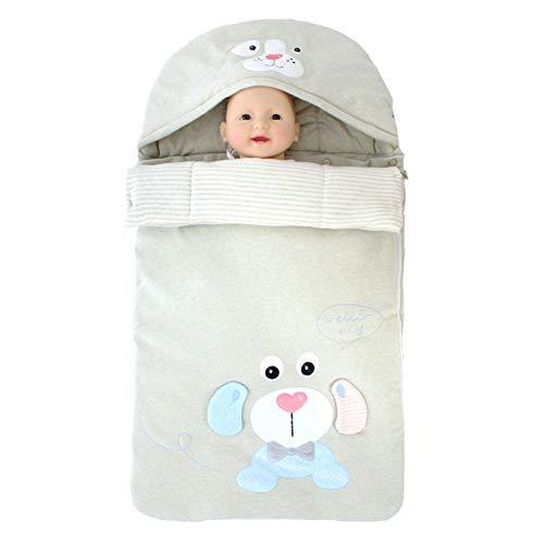 Säuglingsschlafsack farbige Baumwolle Multifunktions-Anti-Kick-männliche und weibliche Baby kann Wärme Lieferungen verlängert werden B (Zu Männlich Weiblich Verwandeln)