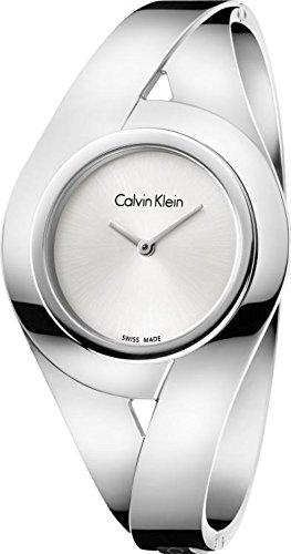 Calvin Klein Orologio Analogico Quarzo da Donna con Cinturino in Acciaio Inox K8E2S116