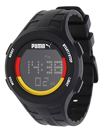 Puma Time PU-zone Orologio da polso da uomo 91130 – Germany Digitale, al quarzo, in plastica pu911301012