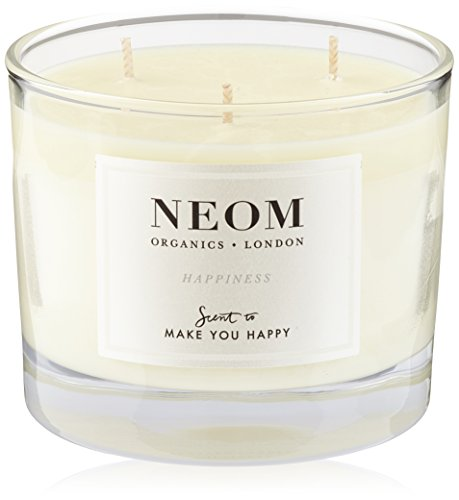 Neom Organics London Happiness Three Wick Scented Candle 420 g