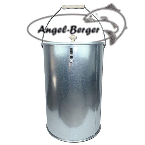 Angel Berger Räuchertonne Teleskop Räucherofen mit viel Zubehör