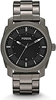 FOSSIL MENS MACHINE STAINLESS STEEL WATCH - FS4774IE