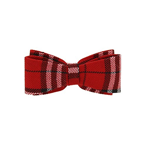 Price comparison product image Zac's Alter Ego® Red Tartan Double Bow On Barrette