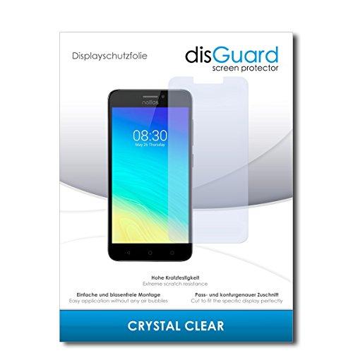 disGuard® Bildschirmschutzfolie [Crystal Clear] kompatibel mit TP-Link Neffos Y5s [4 Stück] Kristallklar, Transparent, Unsichtbar, Extrem Kratzfest, Anti-Fingerabdruck - Panzerglas Folie, Schutzfolie